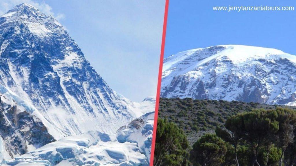 kilimanjaro Vs Mt. Everest