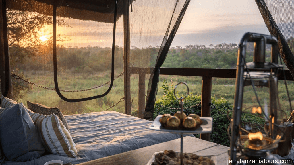 accommodation during the Safari