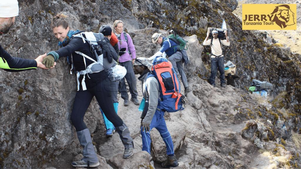 Kilimanjaro hiking
