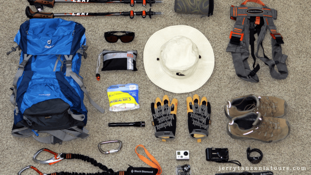 Prepare to climb Kilimanjaro: Choosing The Right Gear